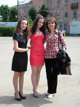 Я со своими учениками - Ирина Руфовна Сорокина