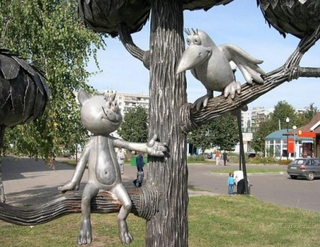 Знаменитый котёнок с улицы Лизюкова