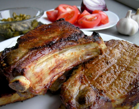 Мясо на гриле в духовке рецепты на вертеле