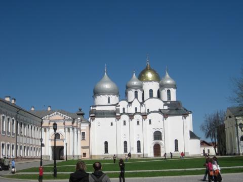 Софийский собор в Великом Новогороде - Ольга Андреевна Чекашкина