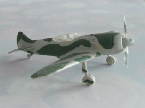 модель самолета - Сергей Иванович Кольцов