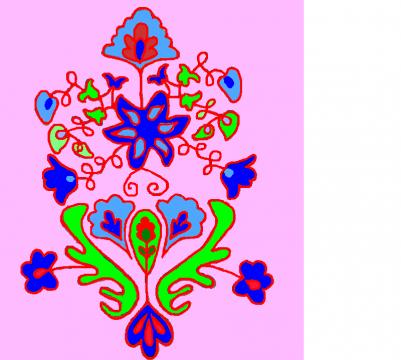 Татарский орнамент - Гульжиган Мухаммедовна Гайнуллина