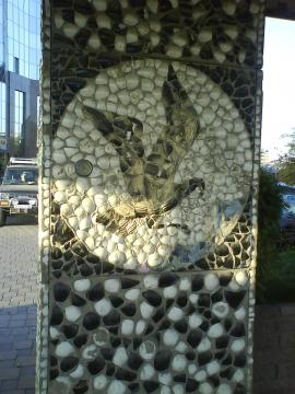 Алматы (фрагмент остановки автобуса) - Светлана Мидхатовна Иргалиева