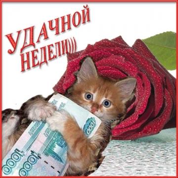 Удачной недели - Ирина Валентиновна Ермакова