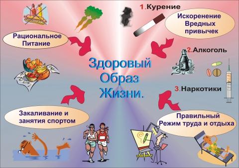 Плакат ЗОЖ - Людмила Васильевна Кушнаренко