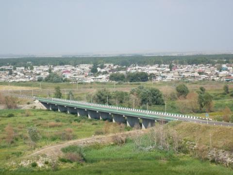 Мост через р. Терсу - Наталья Николаевна Глебова