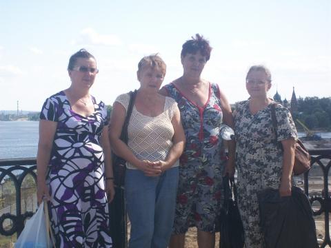 Встреча с одногрупницами в Я рославле через 36 лет.