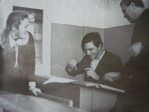 в 10 Б, 1976-1977 - Муниципальное образовательное учреждение Средняя общеобразовательная школа № 50 имени Н.Е.Жуковского