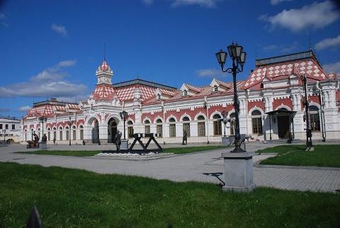 Старый ж / д вокзал - Марьяна Федоровна Рженичева