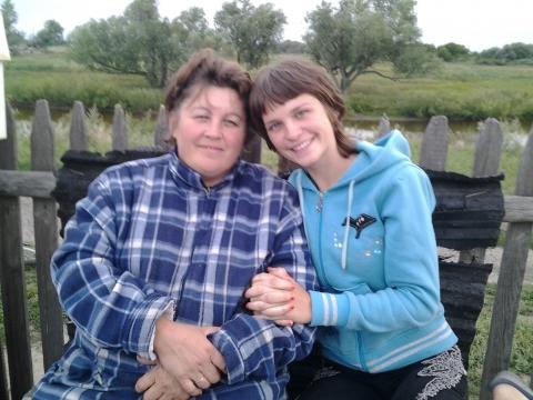 Я с дочей - Людмила Александровна Шалимова