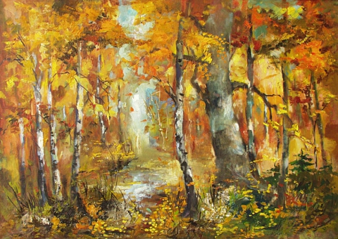 Осень - Татьяна ТЕОдоровна Гридина
