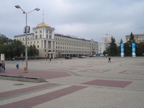 Белгород. Центральная площадь города - Валентина Ивановна Афанасенко