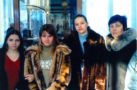 В музее медуниверситета - Наталья Александровна Федорова