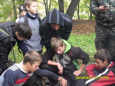разжигание костра - Муниципальное образовательное учреждение `Гдовская средняя общеобразовательная школа`
