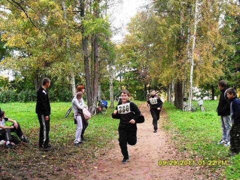 все бегут, бегут, бегут... - Муниципальное образовательное учреждение `Гдовская средняя общеобразовательная школа`