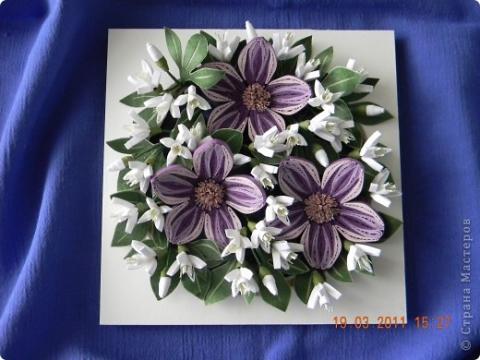Техника квиллинга мастер класс цветы