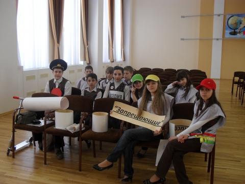 Смотр отряда ЮИД 5А 2009 год - Татьяна Алексеевна Черненко
