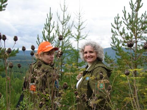 Я и редактор Ирина Яблокова - Ирина Владимировна Жилавская