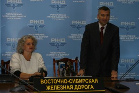 Итоговая пресс-конференция в Иркутске - Ирина Владимировна Жилавская