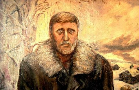 Мой портрет (начало 80-ых) - Николай Петрович Почтовалов