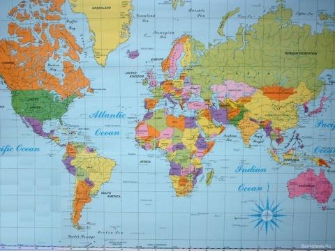 Карта мира - Валентина Вениаминовна Королева