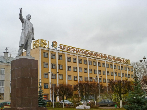 Ленин у ХБК 3 - Александр Владимирович Серолапкин