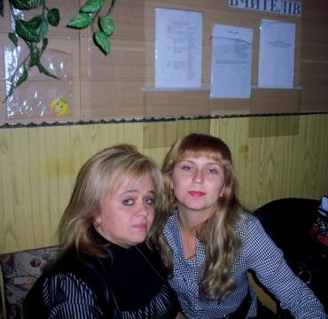 Горлач О.В. и Щербань В.С.-учителя укр яз. - Акимовская общеобразовательная школа №1