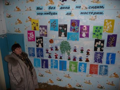Выставка детских работ - Ольга Николаевна Стрельникова