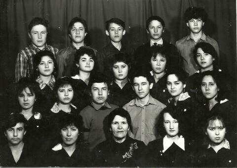 Наш класс, 1989 год - Илюза Таджиковна Кривицкая