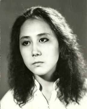 Айзалия Нигматова, Уфа, РСХШИ, 1990 год  - Илюза Таджиковна Кривицкая