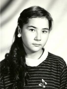 Это я, мне 13 лет, 1987 год - Илюза Таджиковна Кривицкая