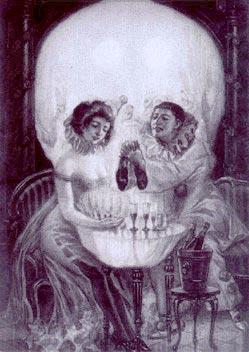 Иллюзии с черепом.Влюблённый клоун - Ольга Николаевна Константинова