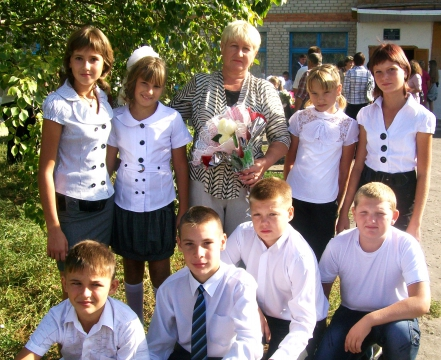 мой седьмой класс - Анна Григорьевна Дарьина