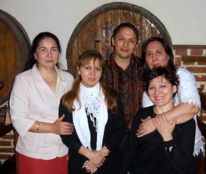 На встрече выпукников - Илюза Таджиковна Кривицкая