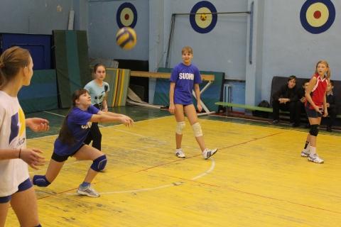 Пер-во по волейболу - Средняя школа № 23 с углублённым изучением финского языка