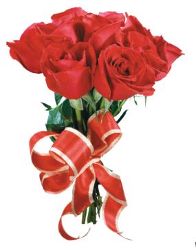 подарок розы