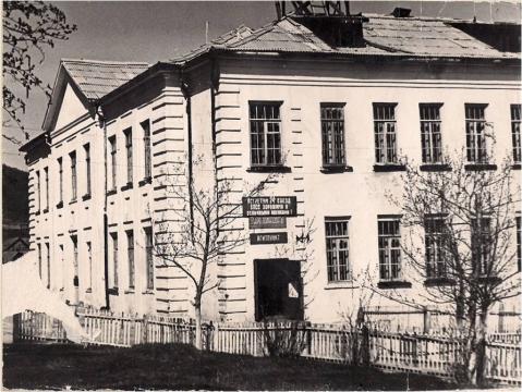 1954 год новое здание средней школы - МОУ ВЕРШИНОДАРАСУНСКАЯ СОШ