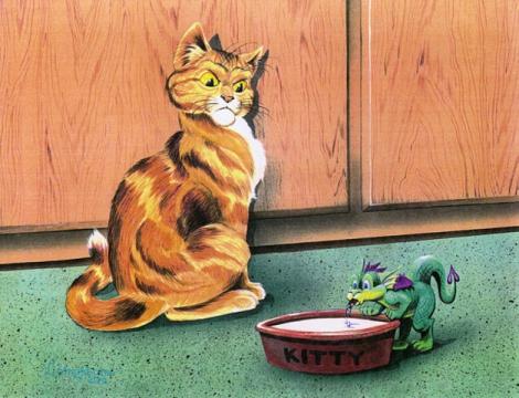 Cat_Dragon. - Алла Михайловна Насретдинова