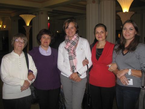 октябрь 2011 - День учителя - Екатерина Валентиновна Францужан