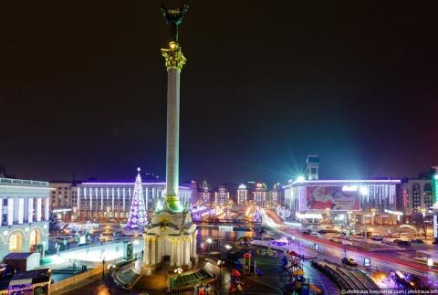 Новогодний Киев - Александр Николаевич Комлев