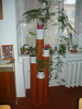 для цветов подставка - Ирина Ивановна Курганская