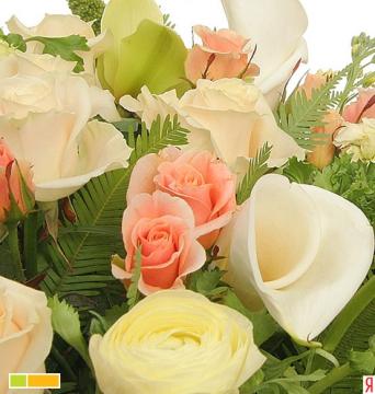 розы и каллы