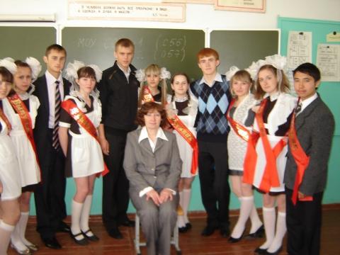 Мои выпускники 2010 - Ольга Витальевна Козлова