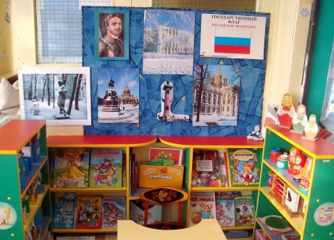 Книжные уголки для детского сада фото
