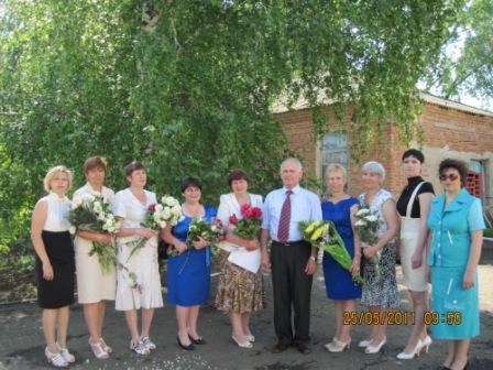 Коллектив школы - Леся Павловна Подрезова