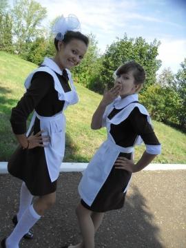 1 сентября - самые красивые учащиеся своей школы