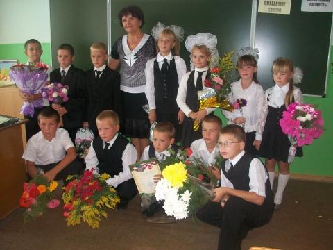3 класс, 1 сентября 2011 года - Панна Ивановна Бирюкова