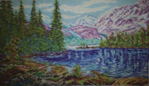 Горное озеро - Лидия Николаевна Никулина