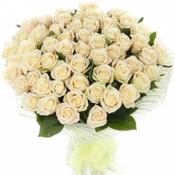 Беые розы