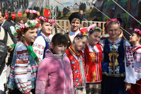 Школа Захарченко - самые красивые учащиеся своей школы
